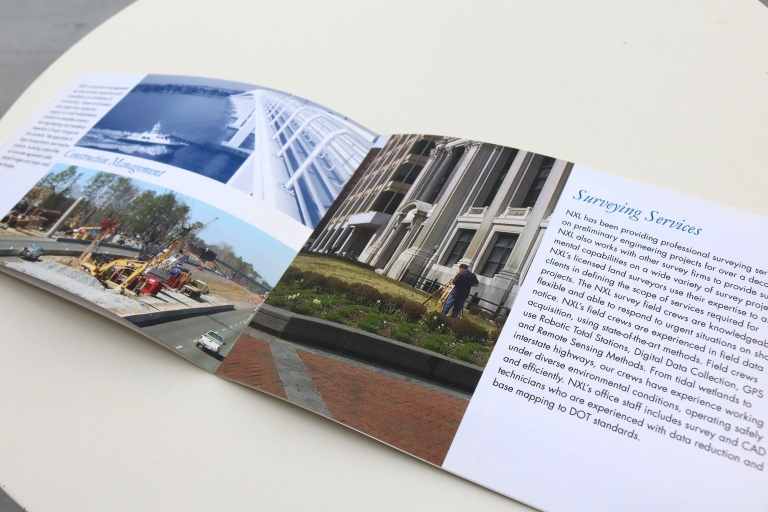 layout brochure design