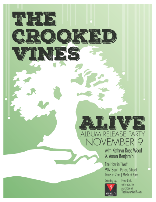 Crooked Vines Album Release Nov 2017 final