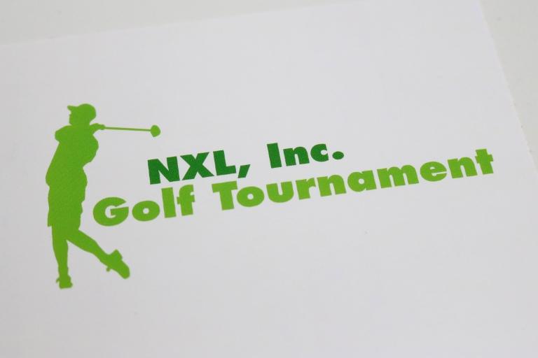 logo design golf tournament